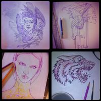 Instagram sketches by theirison