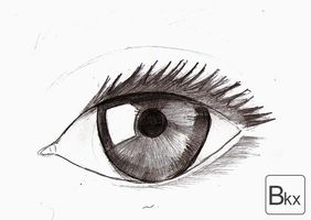 Realistic eye by Beykex