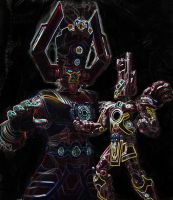 Galactus Hungers by Jin-Saotome