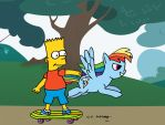 Bart's Little Pony by DJgames