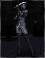 Another Dark Elf by Nianya
