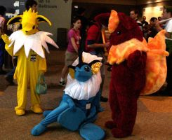 Eeveelutions-Cosplay by Fyuvix