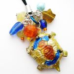 Turtle Phone Charm by fairy-cakes