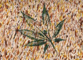 Field Of Wheat - 2015 by JurassicBlueberries