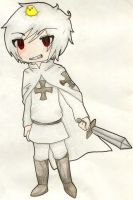 Chibi Teutonic Knight Prussia by Thalia-TW