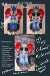 Fan-Made plushimus Prime by TheWolfsgirl90