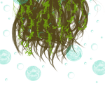 Bubbly Vine Filled Hair by KrystalDreams14