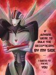 Starscream's Valentine by Cold-Creature