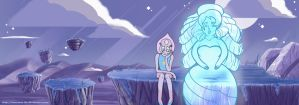 Steven Universe - Pearl's lament by AmmoBot-HB