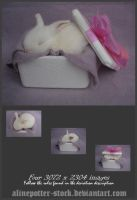 Bunny in a Box Pack 02 by AlinePotter-stock