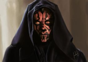 Darth Maul by Facuam