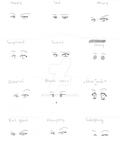 Eye Expressions by Usei