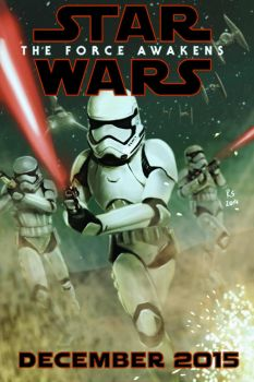 Stormtroopers from Star Wars - The Force Awakens by Robert-Shane