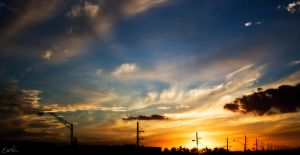 My Sunset by wolmers