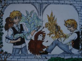 Hetalia Harry Potter crossover by Lilithart13