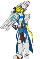 Elsword/Fallout: Wasteland Chung by sketchingchaos