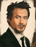 Robert Downey Jr. by FGreyCoyode