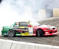 PTT Performa Drift Team Nissan Silvia S13 by sudro