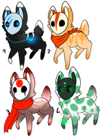 CLOSED - Maskees Adoptables 221 by LeaAdoptables