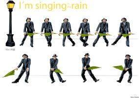 I m singing in the rain by mcaballer4