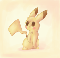 .: Pikachu :. by Psunna