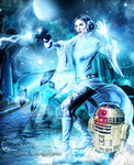 Princess Leia by eerilyfair