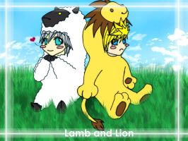 Lion and Lamb Entry 4 by Rikuroku