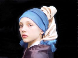 Aylem Without a Pearl Earring by AriHermes