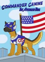 Commander Canine the Avenger Dog by MCsaurus