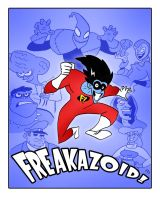 Freakazoid Poster by TheNoirGuy