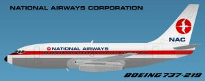 ZK-NAC New Zealands First 737 by AndyJDesign