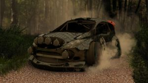 Ford Fiesta RS 2012 In Action by oliletigre