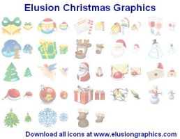 Elusion Christmas Graphics by Ikonod