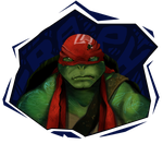 TMNT RAPH by Arllo