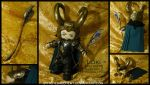 Avengers Assemble: Loki Plush by StitchedAlchemy