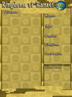 Kingdoms of Ransei -Application- by Hexlix