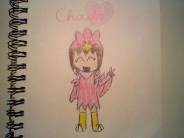 OMG THE PINK CHOCOBO by megrim96