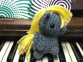 Derpy on a piano by ChronicReverie