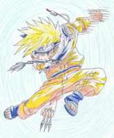 Naruto jump by ConkerTSquirrel