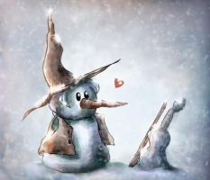 The Fiddler of Snow by FantasyGold