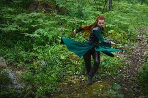 Tauriel training (The Hobbit) by chapayka