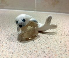 Seal Pup by Maaaaaaaaggie