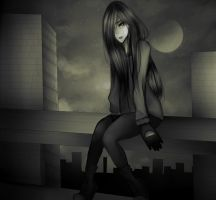 You should be fear by the dark by Geaminia