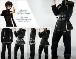 Lelouch Lamperouge Costume by cosplayblog