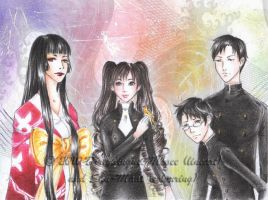 COLLAB - xxxHOLiC_The Four by Shu-Maat