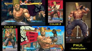 SFxT Mod: Paul - Shirtless by moedjoer
