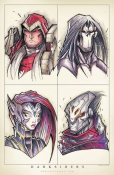 Darksiders Groupshot by RobDuenas