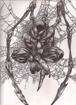 a better scan of SPidey by imaginary07-sunao