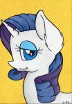 Rarity's Portrait (for sale) by CutePencilCase