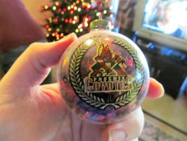 Original Phoenix Coyotes Logo Ornament by BigMac1212